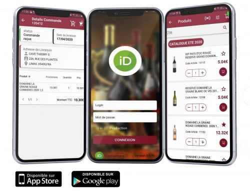 Télécharger l'appli CONFI13 et passer commande depuis votre smartphone