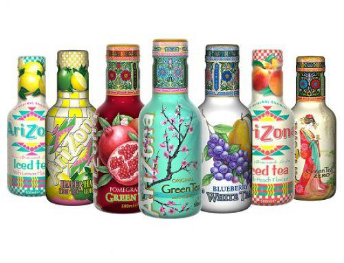 Quelles sont les meilleures ventes de boissons au Thé ARIZONA?